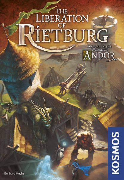 The Liberation of Rietburg board game