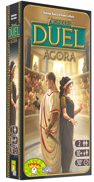 7 Wonders Duel Agora expansion cover