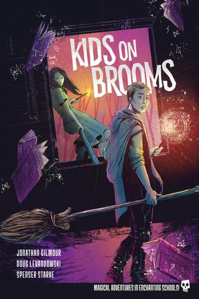 Kids on Brooms Cover