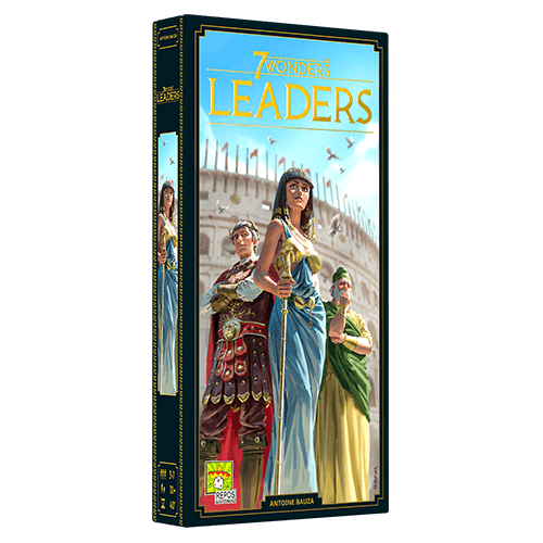 7 Wonders Second Edition Leaders expansion