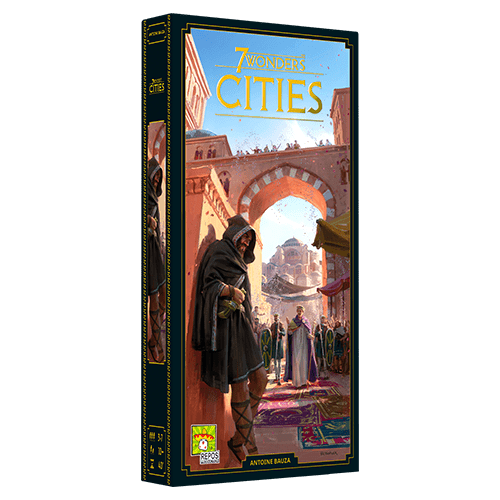 7 Wonders Second Edition Cities expansion box