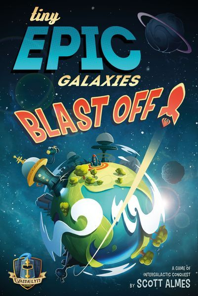 Tiny Epic Galaxies BLAST OFF board game