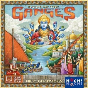 Rajas of the Ganges Dice Charmers cover