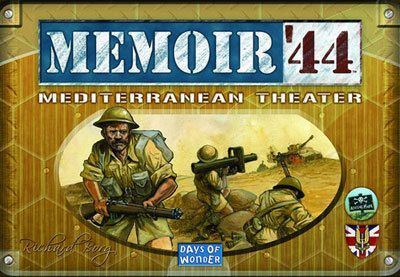 Memoir 44 Mediterranean Theater Expansion