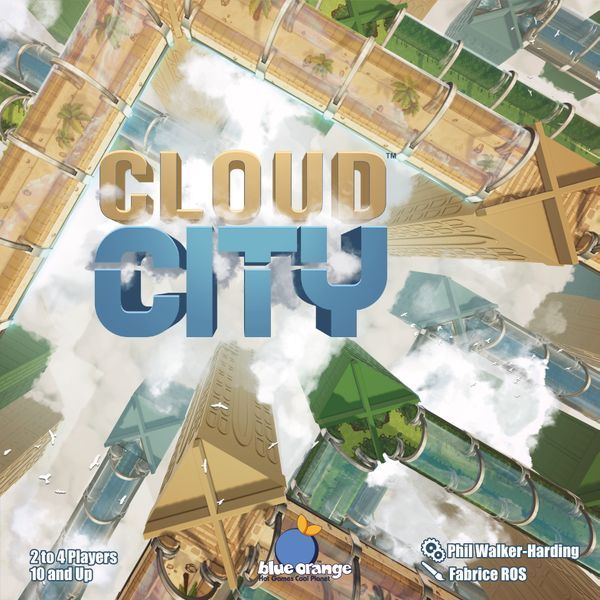 Cloud City Board Game box