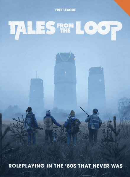 Tales from the Loop RPG cover