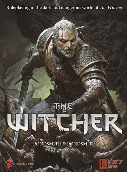 The Witcher RPG Cover