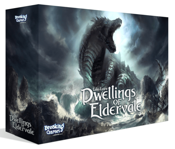 Dwellings of Eldervale Board Game Croc Cover Deluxe Edition