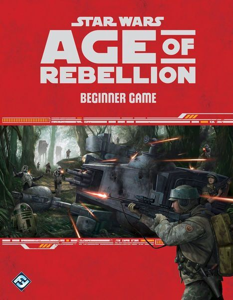 Star Wars Age of Rebellion Beginner Game cover