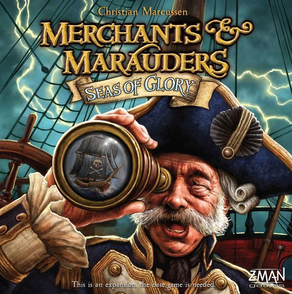Merchants and Marauders: Seas of Glory expansion cover