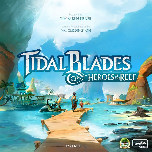 Tidal Blades Heroes of the Reef board game cover