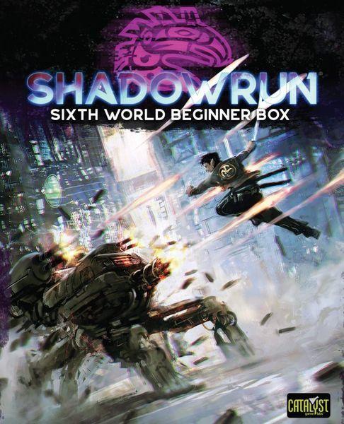 Shadowrun Sixth World Beginner Box cover