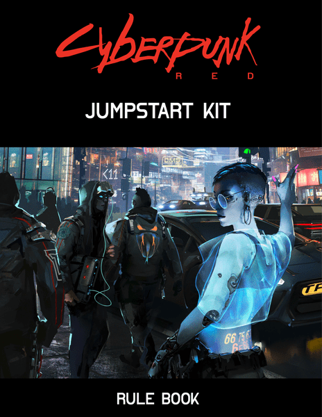 Cyberpunk Red Jumpstart Kit cover