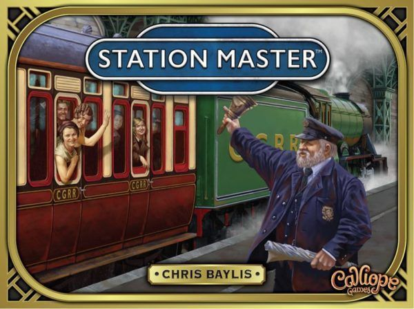 Station Master game cover
