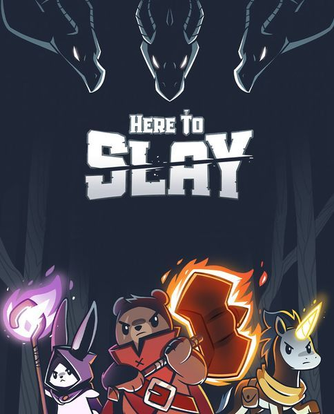 Here to Slay card game cover