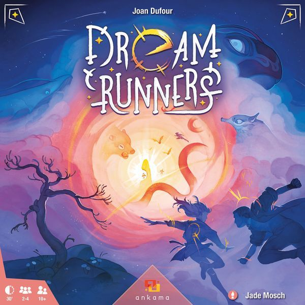 Dream Runners board game cover