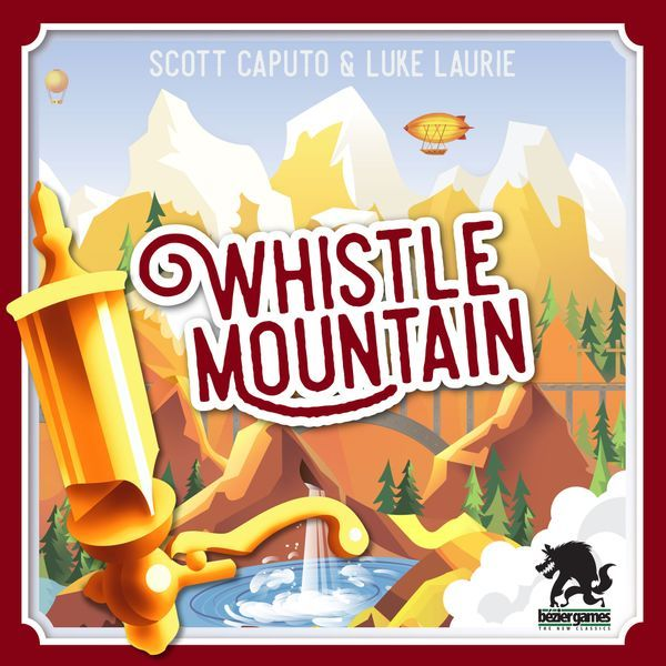 Whistle Mountain board game cover