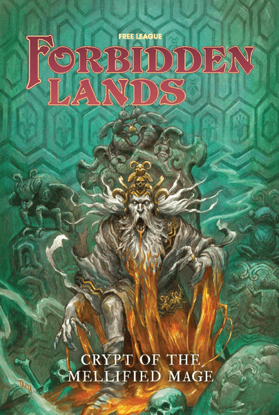 Forbidden Lands Crypt of the Mellified Mage cover