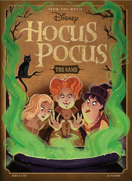 Disney Hocus Pocus Board Game cover