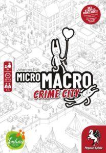MicroMacro Crime City board game cover