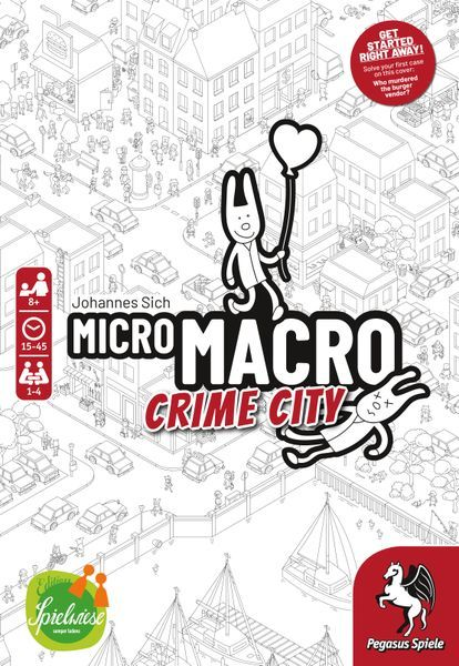 MicroMacro Crime City board game cover