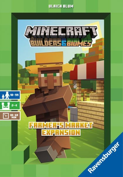 Minecraft Builders and Biomes Expansion: Farmer's Market cover