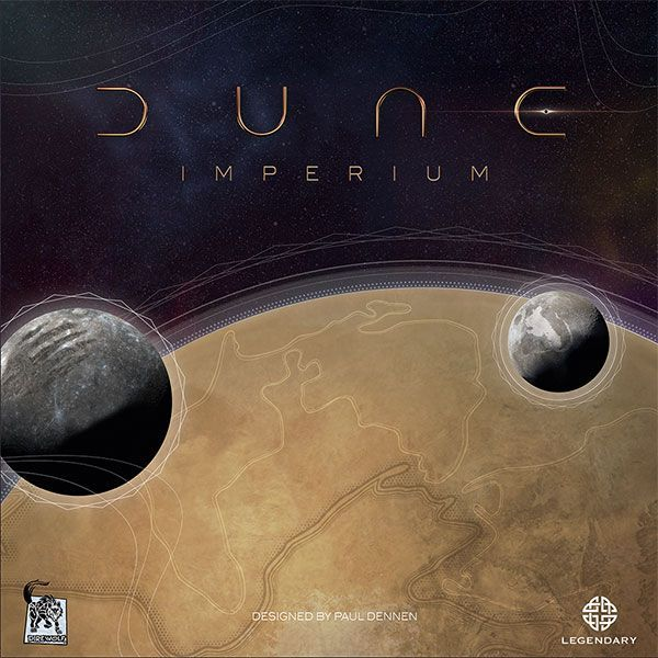 Dune Imperium board game cover