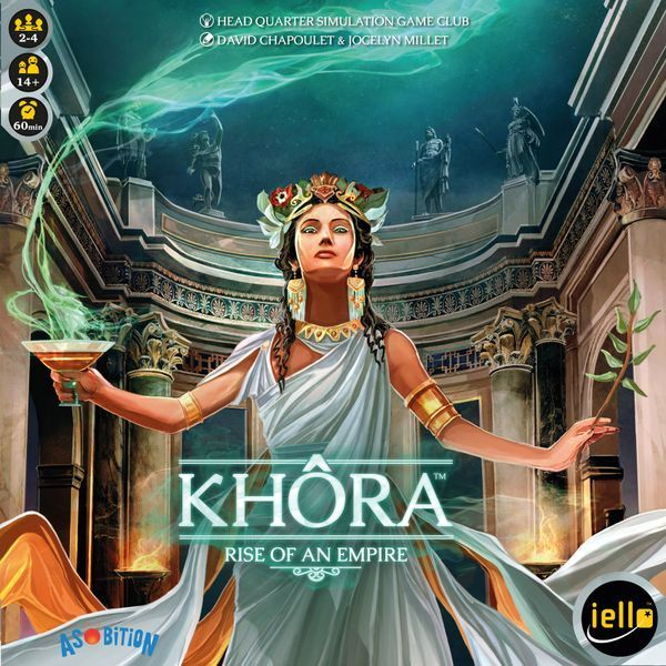 Khora Rise of an Empire board game cover