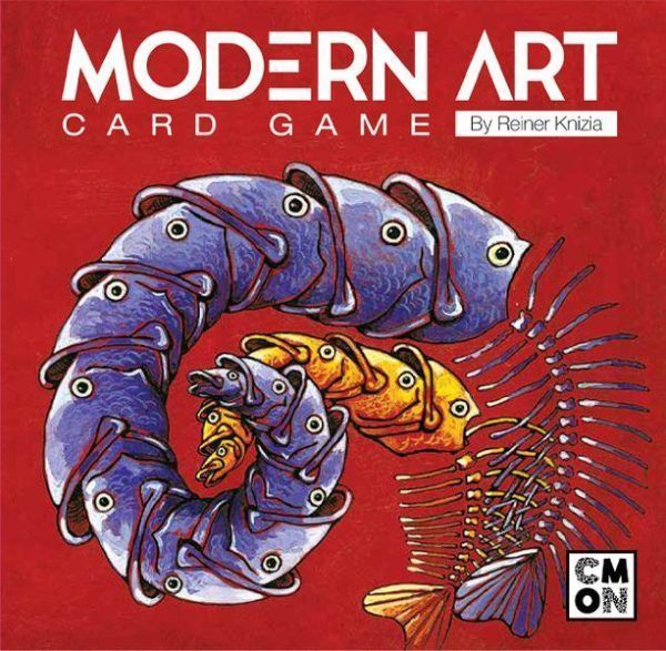 Modern Art Card Game cover