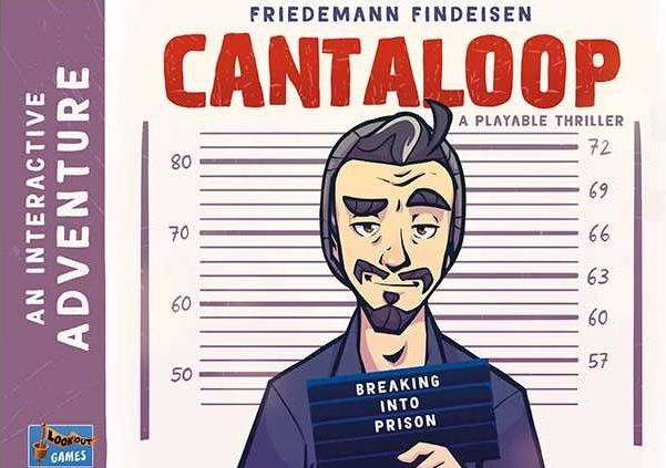 Cantaloop Breaking into Prison (Book 1) cover