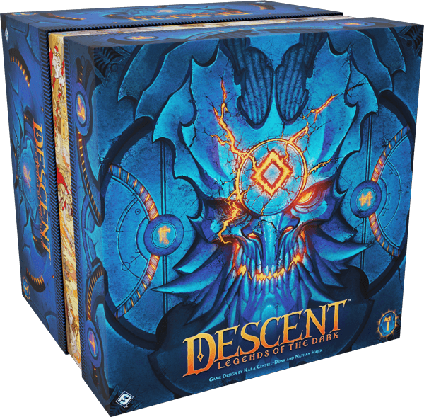 Descent Legends of the Dark box