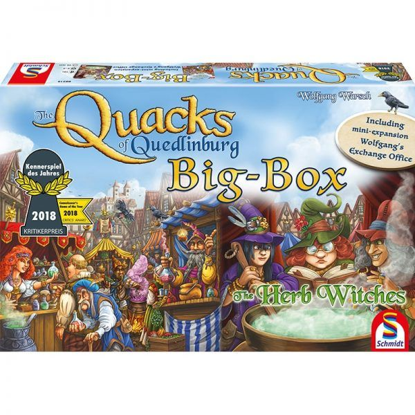 Quacks of Quedlingburg Big Box cover