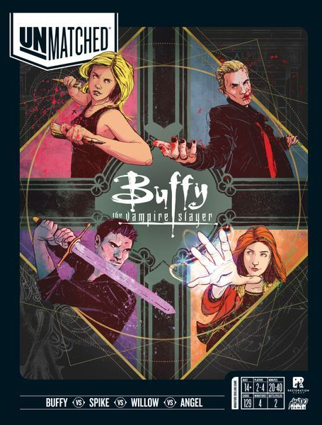 Unmatched Buffy the Vampire Slayer cover