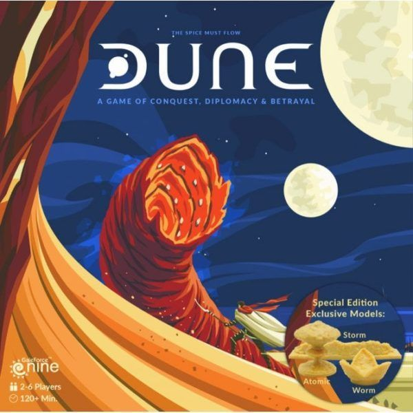 Dune Board Game Special Edition Cover