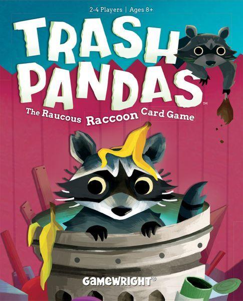 Trash Pandas card game cover
