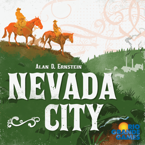 Nevada City board game cover