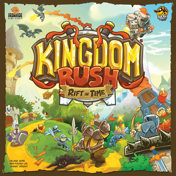 Kingdom Rush Rift in Time board game box