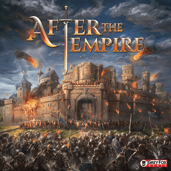After The Empire board game cover