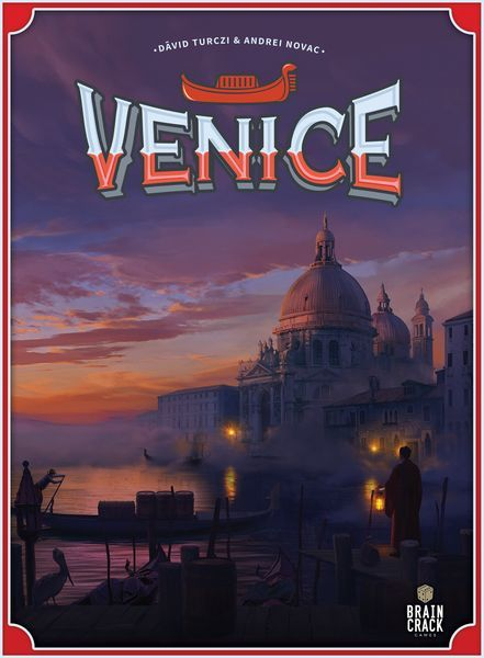 Venice Board Game cover