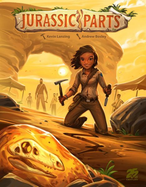 Jurassic Parts board game cover