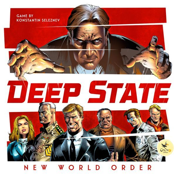 Deep State New World Order board game cover