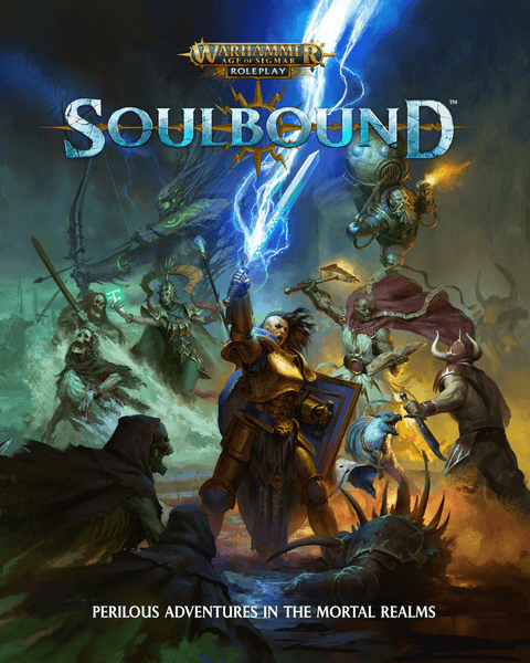 Warhammer Age of Sigmar Soulbound RPG cover