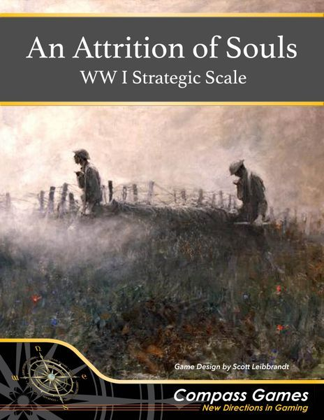 An Attrition of Souls board game cover
