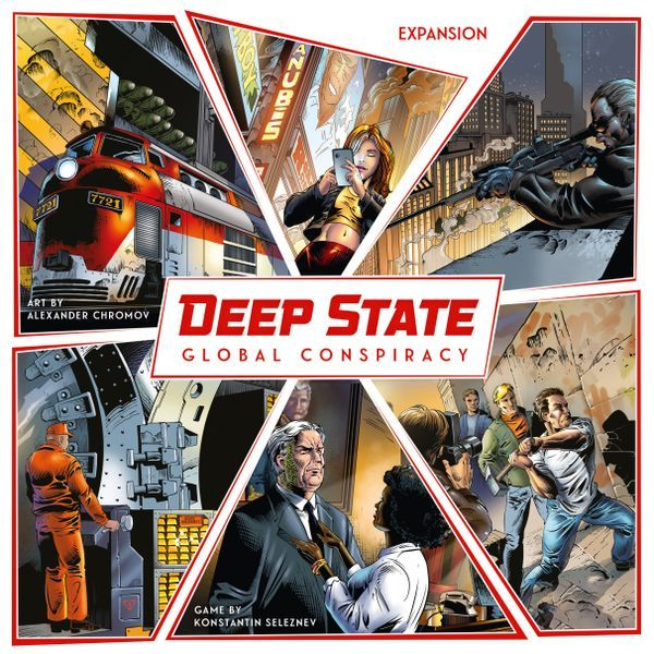 Deep State Global Conspiracy expansion cover