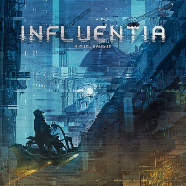Influentia card game box