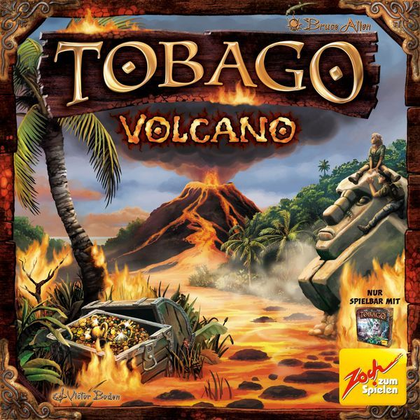 Tobago Volcano Expansion cover