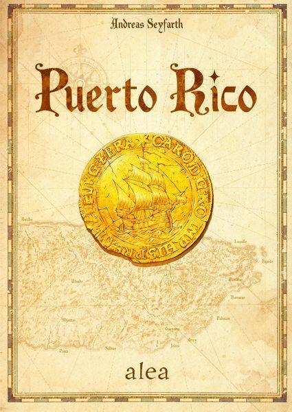 Puerto Rico board game cover 2020