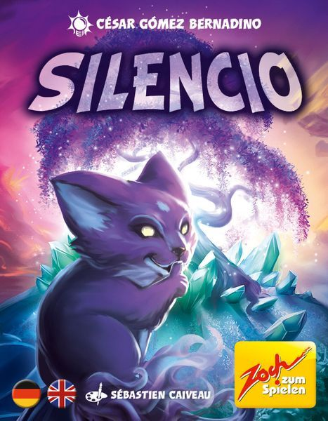 Silencio card game cover