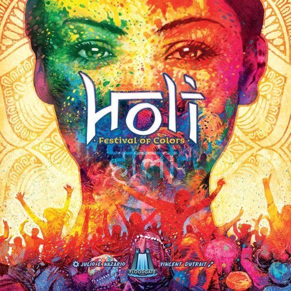 HOLI Festival of Colors Board Game cover