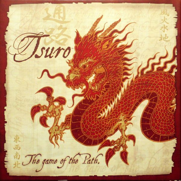 Tsuro Board Game cover